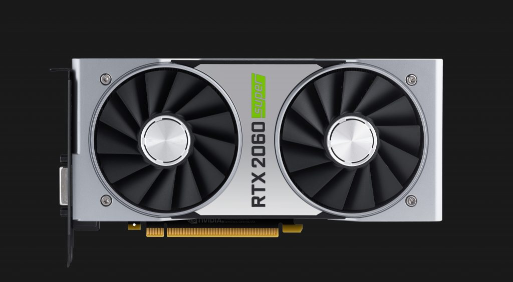 GeForce RTX 2060 SUPER Front View