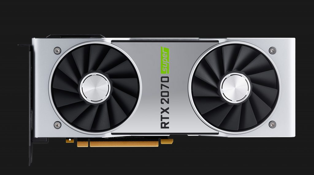GeForce RTX 2070 SUPER Front View