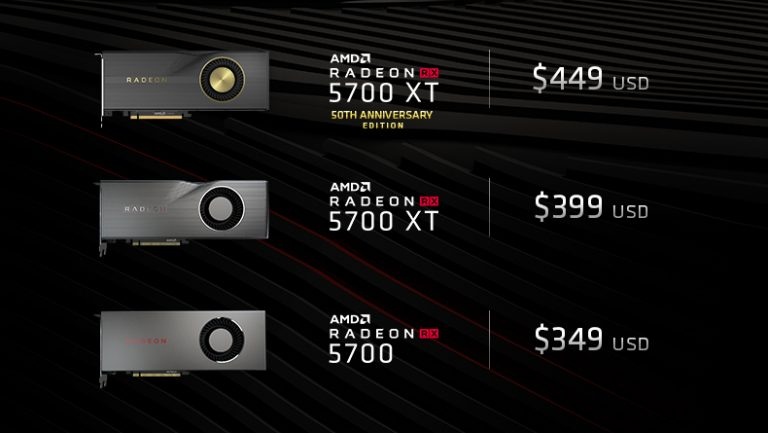 AMD Confirms Price Drop for Radeon RX 5700 Series