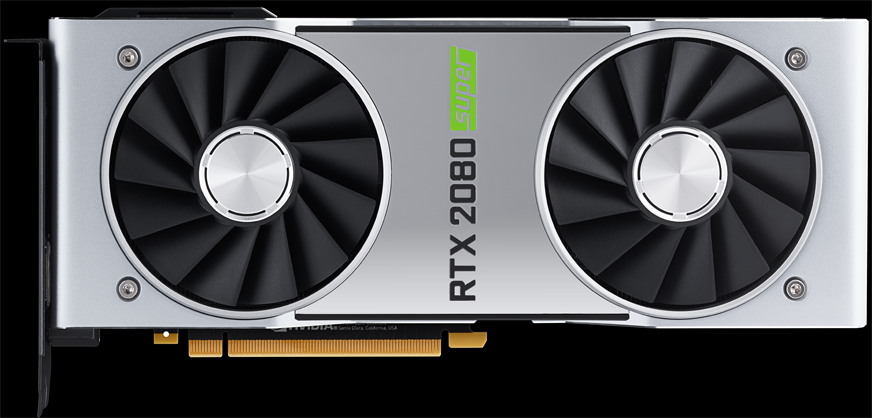 Image of the NVIDIA RTX 2080 SUPER Founders Edition