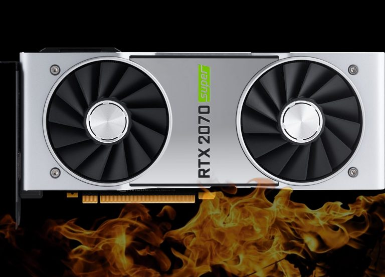 NVIDIA GeForce RTX 2070 SUPER FE Overclocking