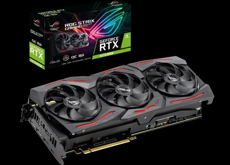 ASUS ROG STRIX RTX 2070 SUPER O8G GAMING Review
