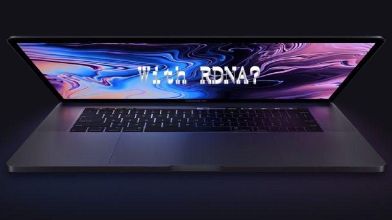 RDNA in a MacBookPro?