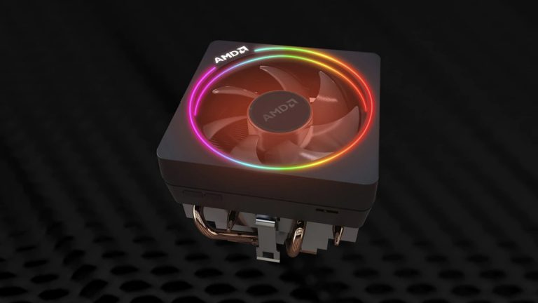 AMD Enhances Its RGB Wraith Prism Stock CPU Cooler with Two Additional Heat Pipes