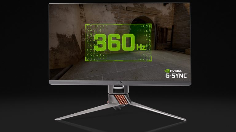 NVIDIA and ASUS Announce World's Fastest Monitor: The ROG Swift 360 Hz G-SYNC Display
