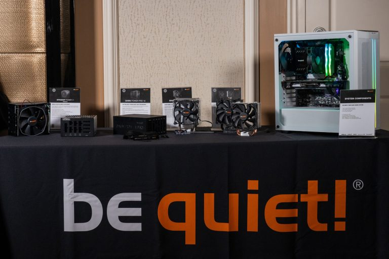 be quiet! Launching New Products at CES 2020