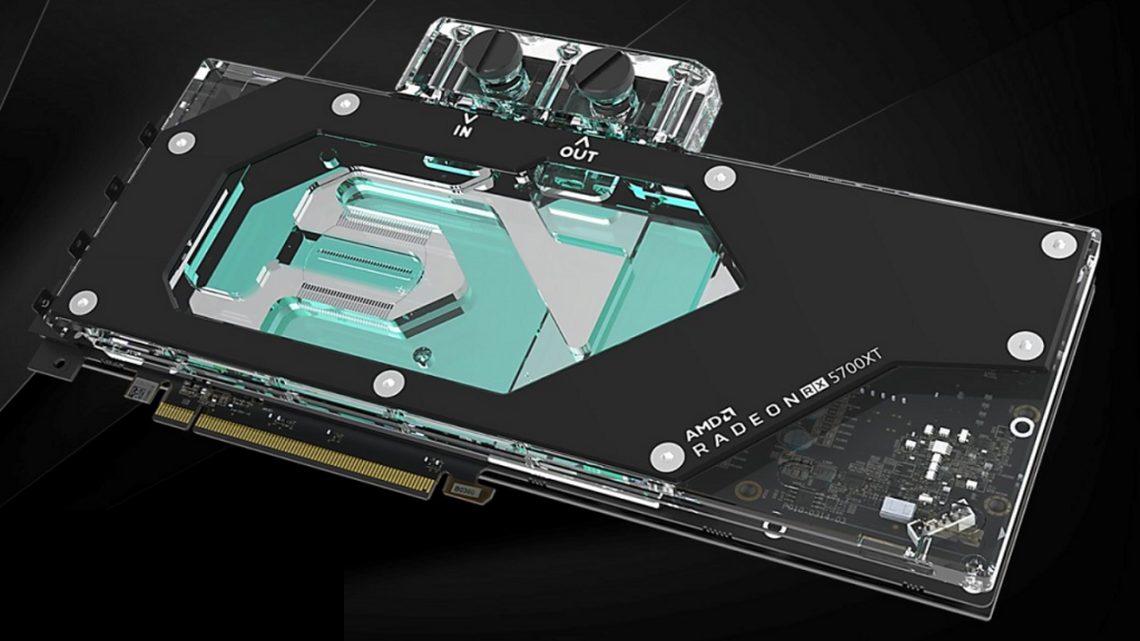 Raijintek's New Water Block For 5700 Series GPU's top view