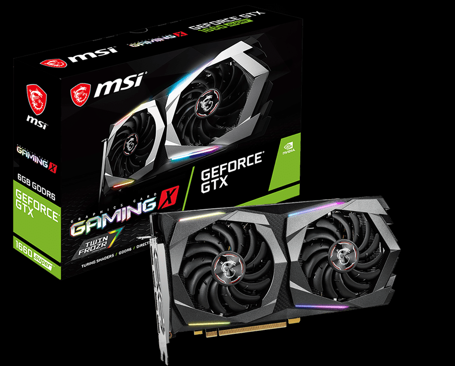 MSI GeForce GTX 1660 SUPER GAMING X Box