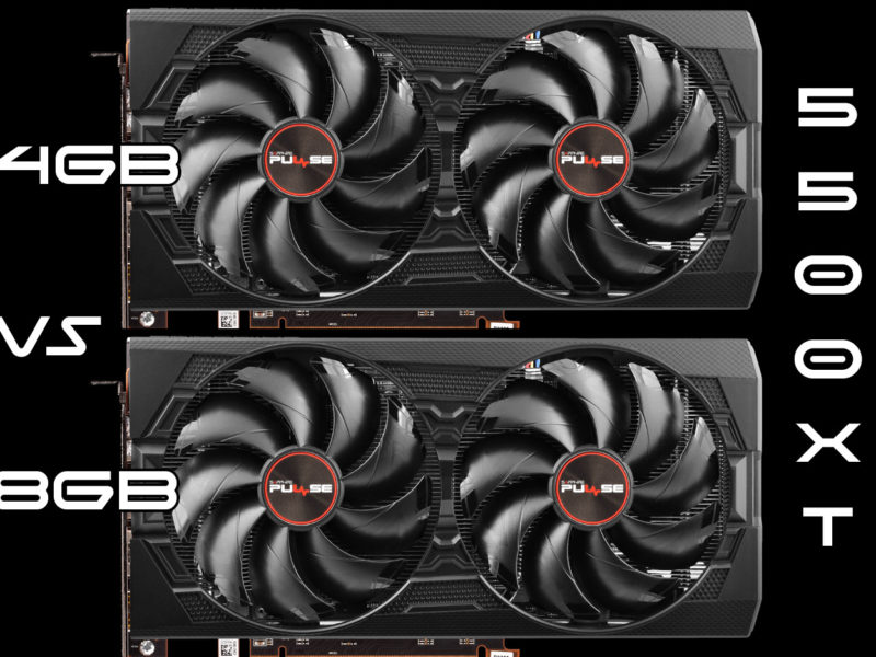 Radeon RX 5500 XT 8GB vs. 4GB Gaming Review