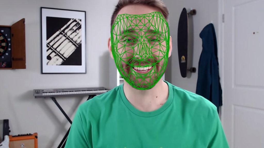Facial Mesh Example
