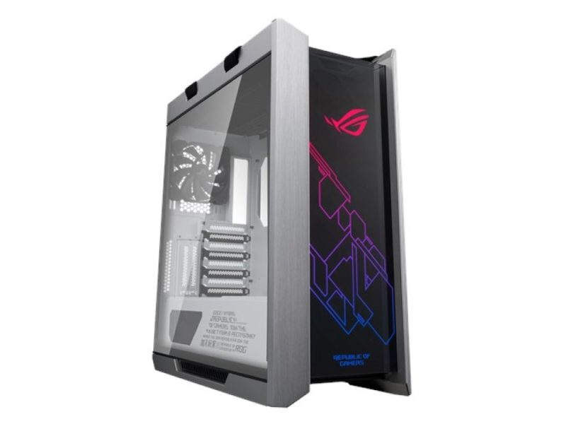 ASUS ROG Strix Helios White Edition Front-side