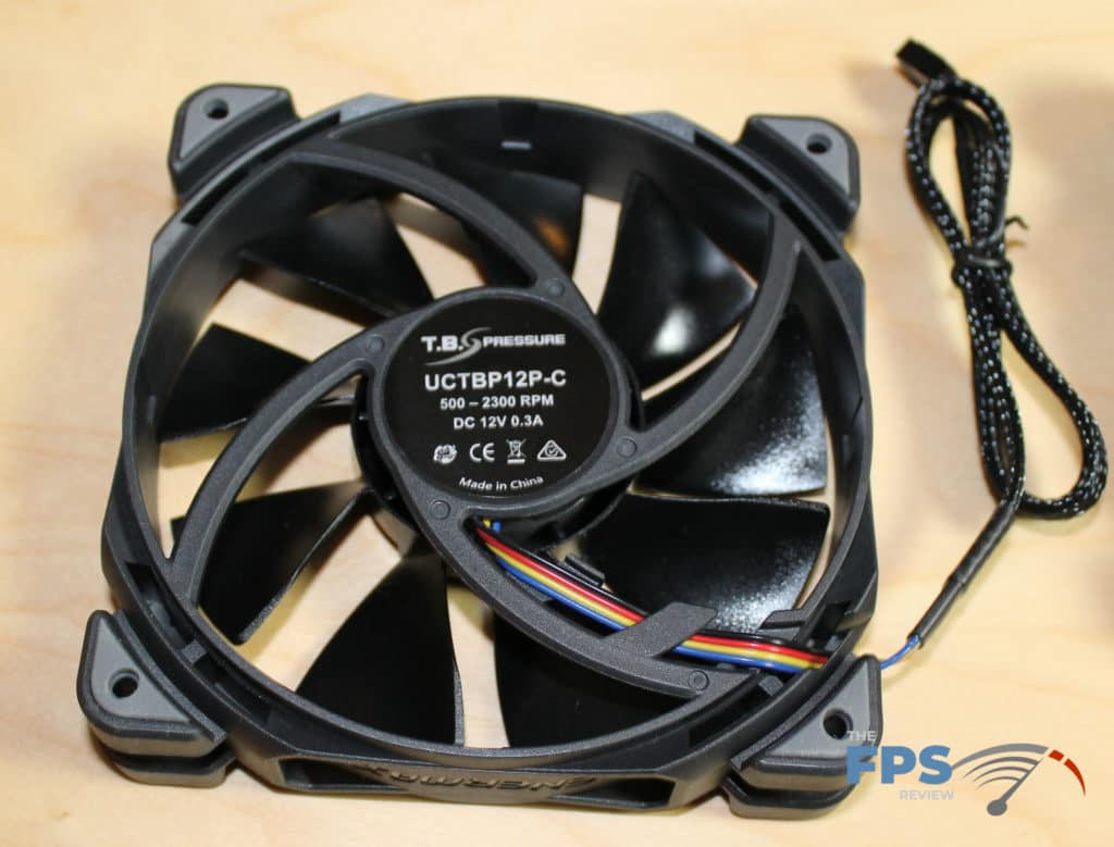 Image of a fan included with the Enermax LIQTECH II 360mm AIO Cooler