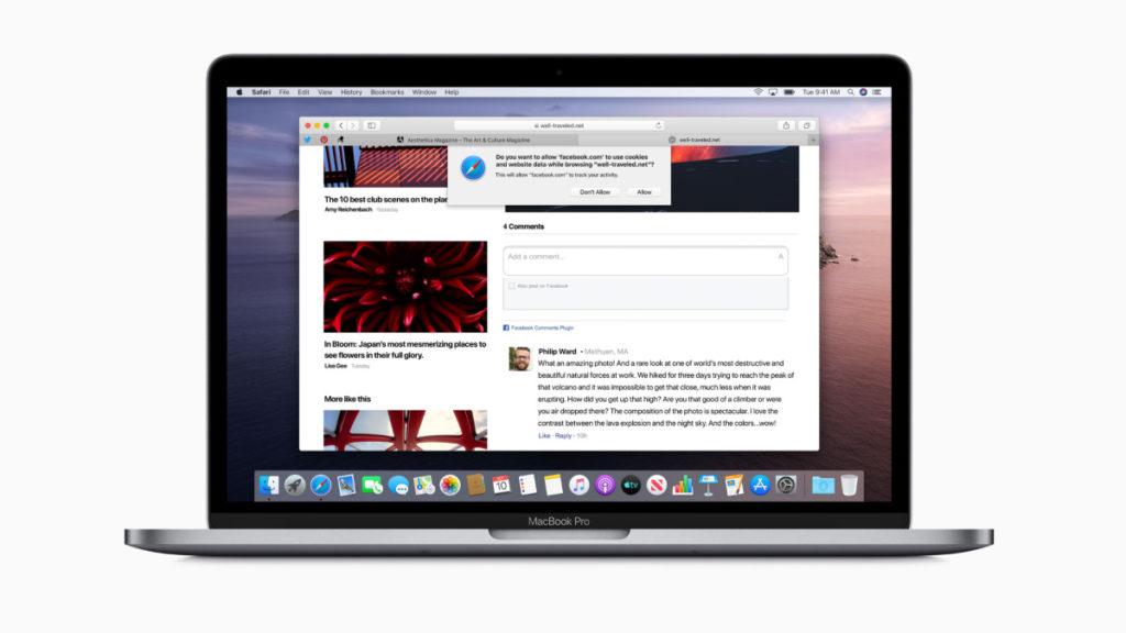 Apple Safari-MacBook Pro