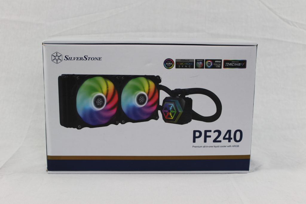 Silverstone PF240 Retail Box