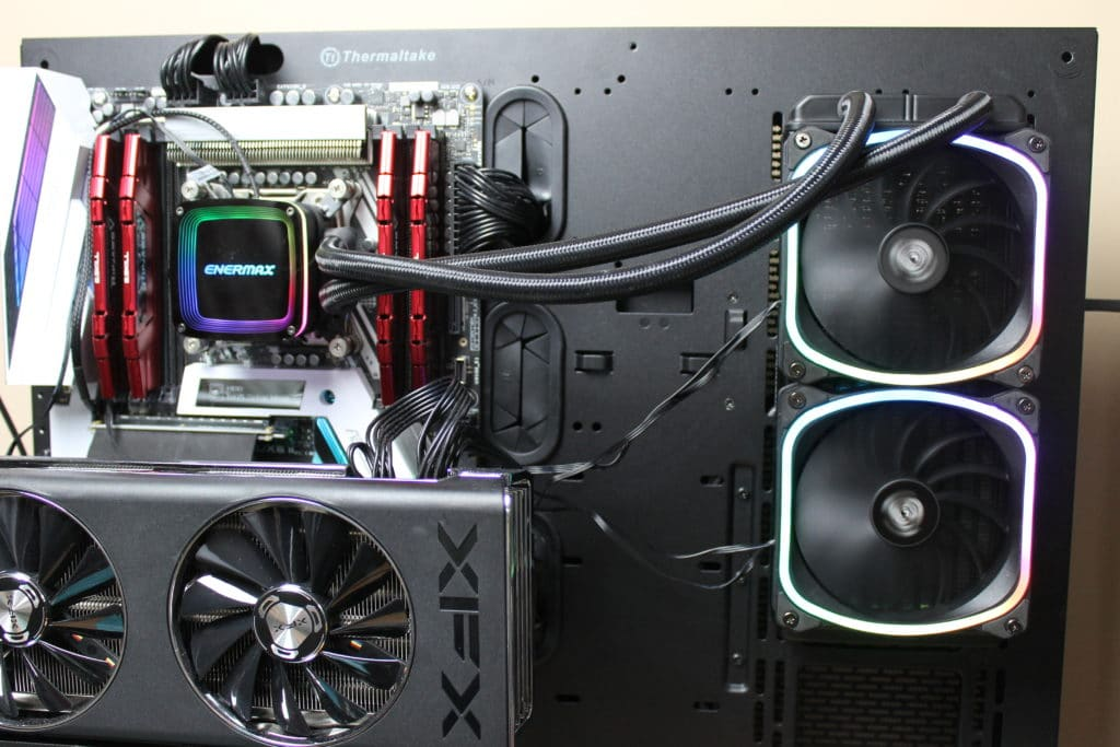 Enermax AQUAFUSION 240 AIO Cooler Installation