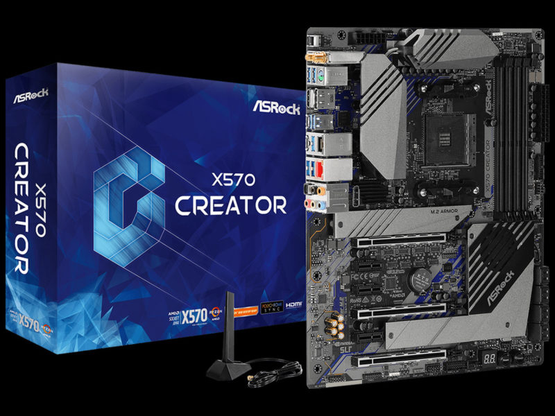 ASRock X570 Creator Motherboard Featured Image