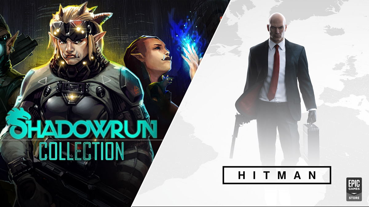 Hitman+Shadowrun Collection (EGS account)