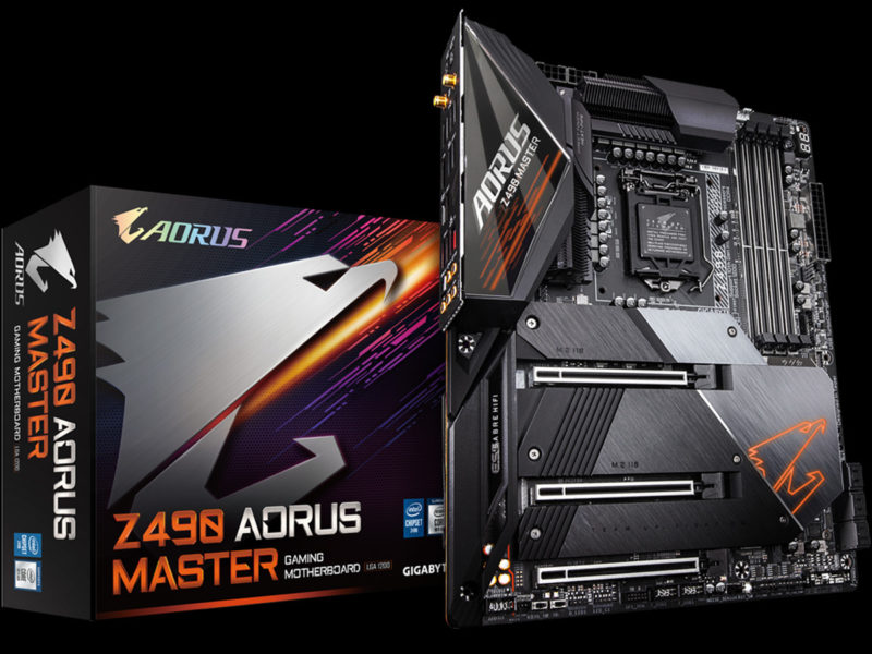 GIGABYTE Z490 Aorus Master Motherboard Featured Image