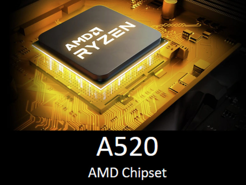 AMD A520 Chipset Featured Image