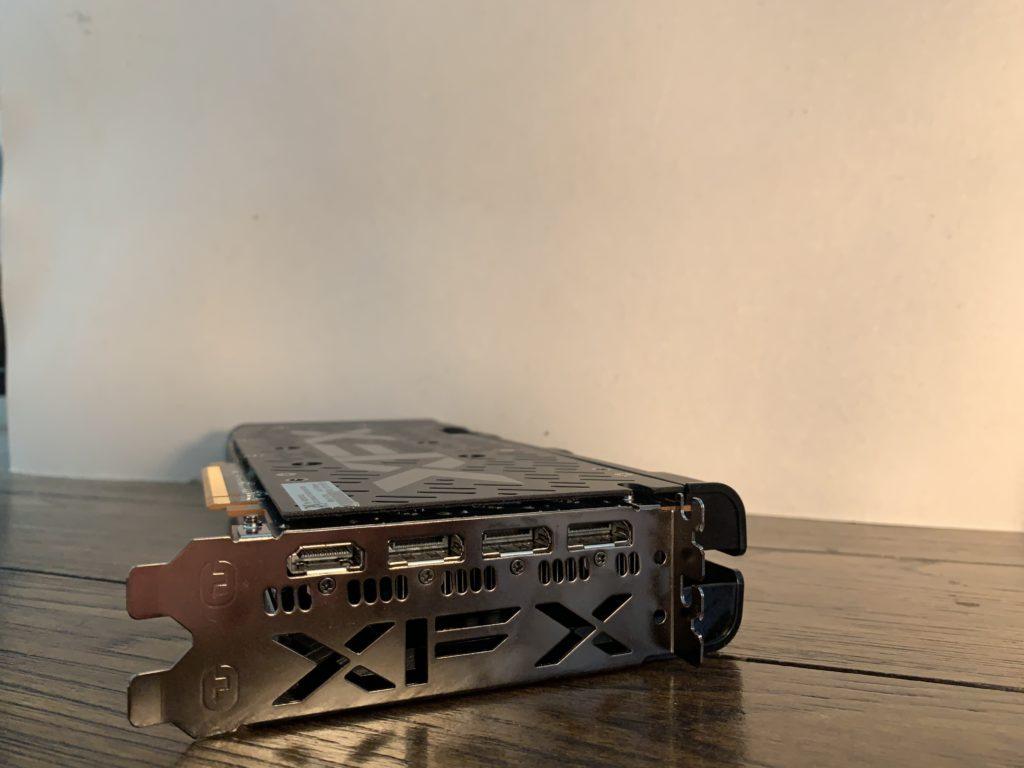 XFX Radeon RX 5500 XT THICC II Pro I/O Ports