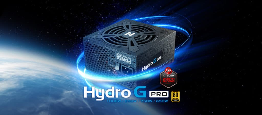 FSP Hydro G PRO 1000W Power Supply Review Banner