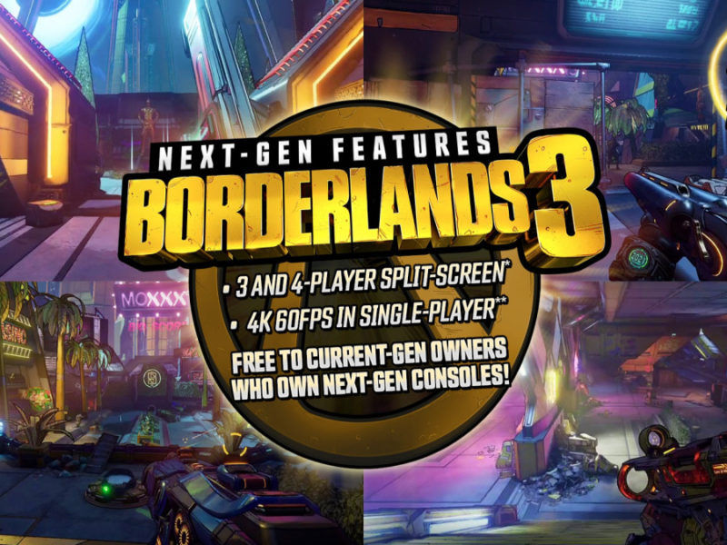 Borderlands 3 PS5 and Xbox Series X announcement