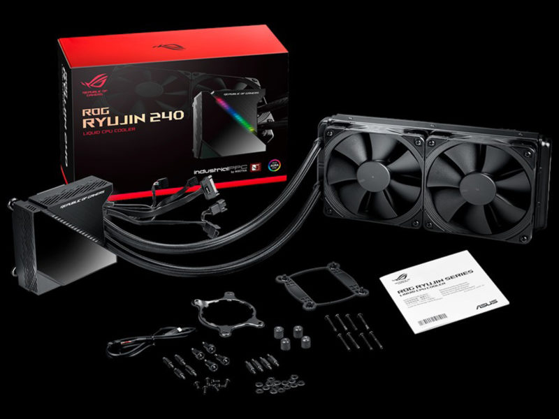 ASUS ROG Ryujin 240 AIO Cooler Featured Image