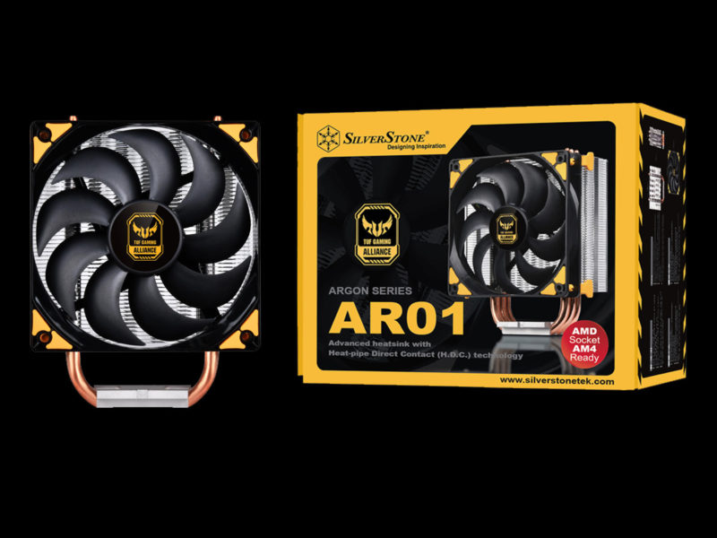 SilverStone AR01 V3 Air Cooler Review Featured Image
