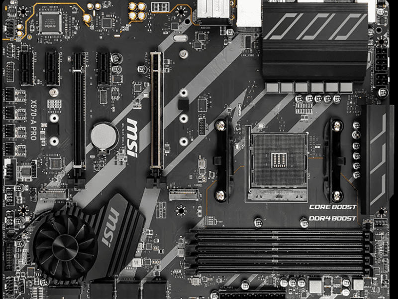 MSI X570-A PRO Motherboard Featured Image