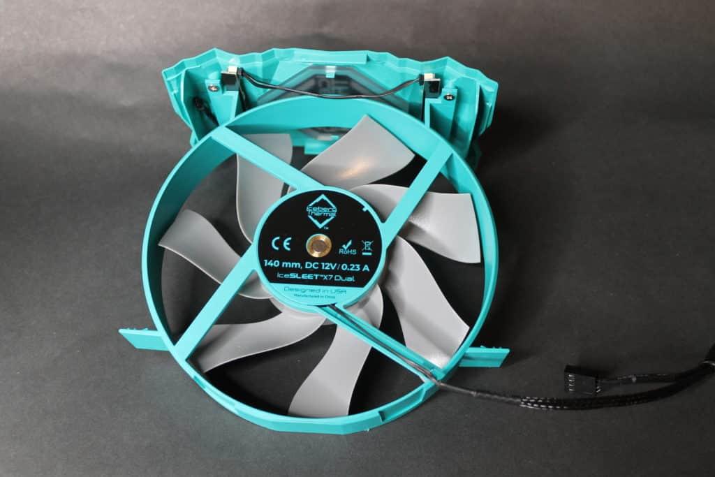 Iceberg Thermal IceSLEET X7 Dual 140mm fan