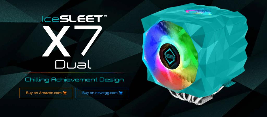 IceSLEET X7 banner image