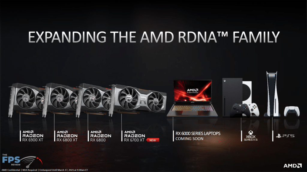 AMD Radeon RX 6700 XT Video Card Review Expanding the AMD RDNA Family