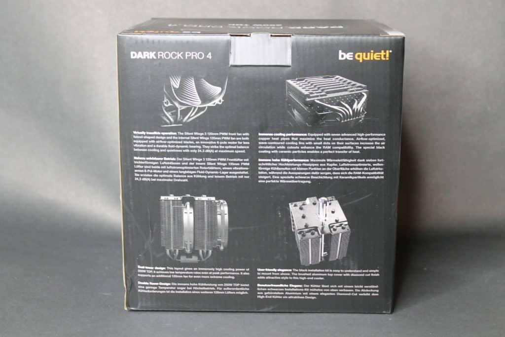 Dark Rock Pro 4 Box Back