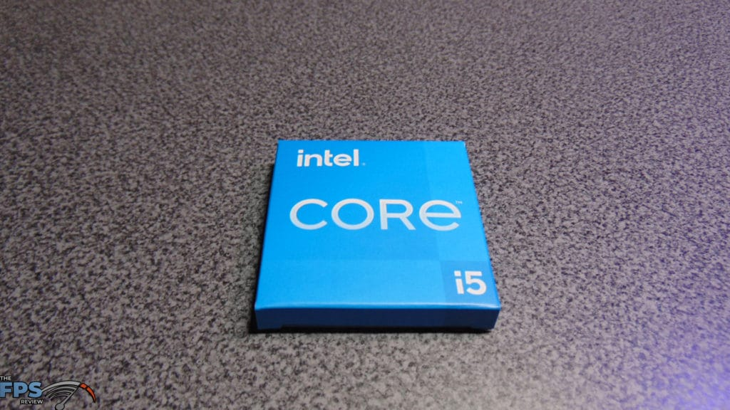 Intel Core i5-11600K CPU Box