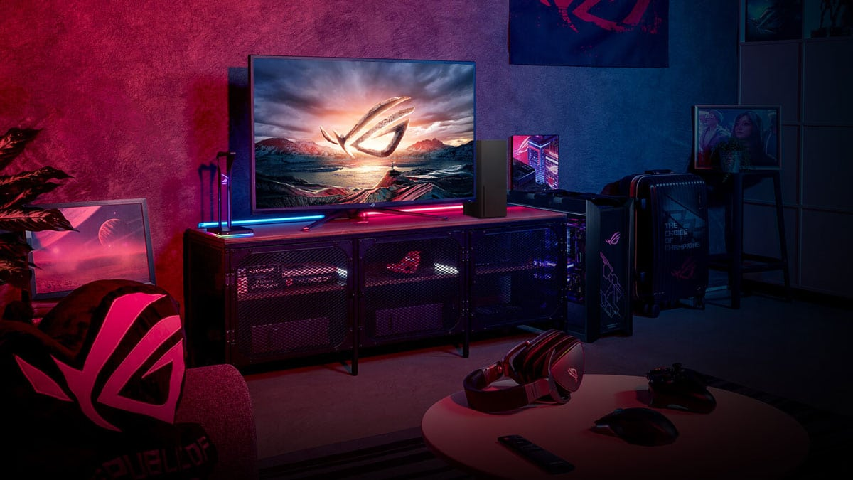 ASUS' 43-Inch ROG Strix XG43UQ HDMI 2.1 Gaming Monitor Will Be Available In May
