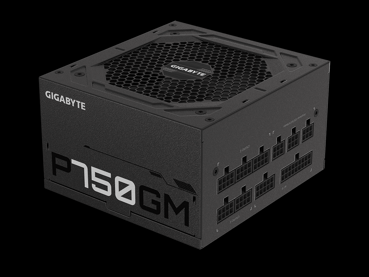 GIGABYTE P750GM 750W Power Supply Featured Image