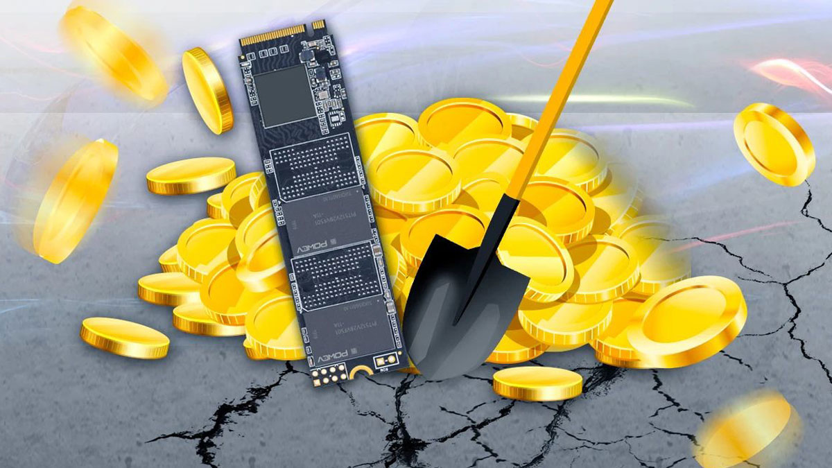 China Begins Developing SSDs Designed Specifically for Cryptomining