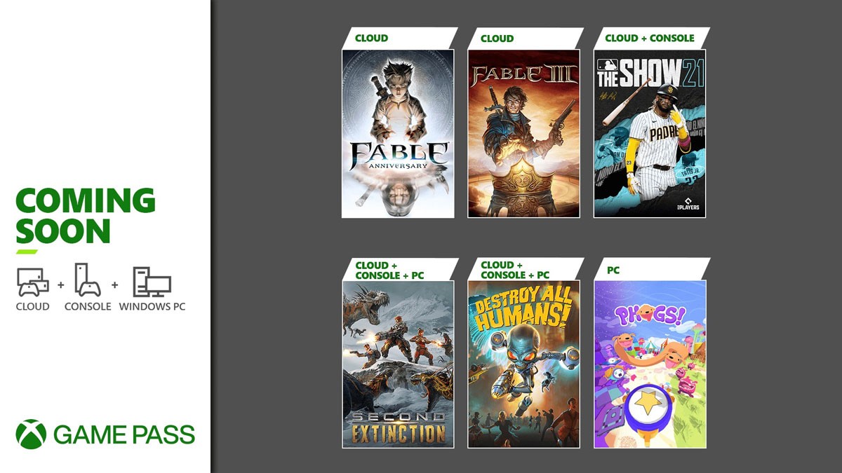 Fable Anniversary, Destroy All Humans!, and More Coming to Xbox Game Pass